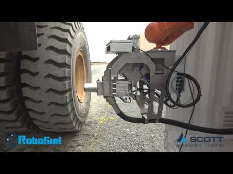 Robofuel - Automated Robotic Refuelling for Mining  Dump Trucks