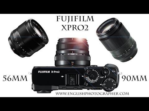 Fuji XPro2 Review and 56mm vs 90mm Portrait Lens Comparison