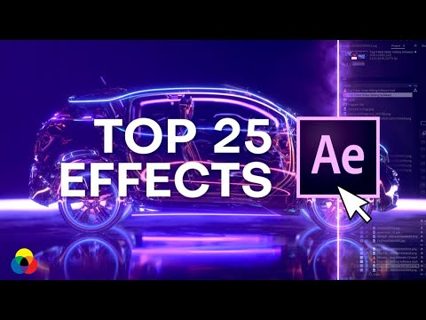 Top 25 Best Effects In After Effects