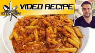 Pizza Pasta Bake - Nicko's Kitchen