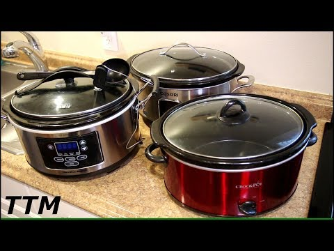 My Three Slow Cookers~Which One Is The Best?~Easy Cooking