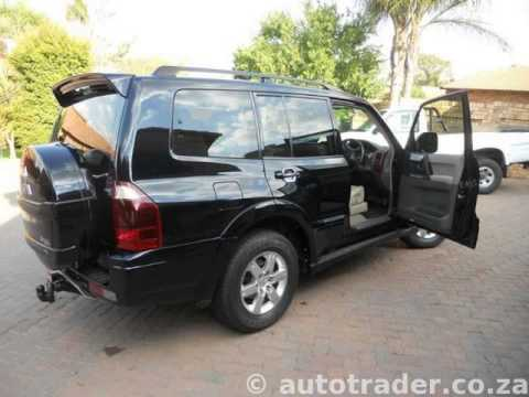 2005 mitsubishi pajero 3 2 did auto extreme package auto for sale on auto trader south africa. Black Bedroom Furniture Sets. Home Design Ideas