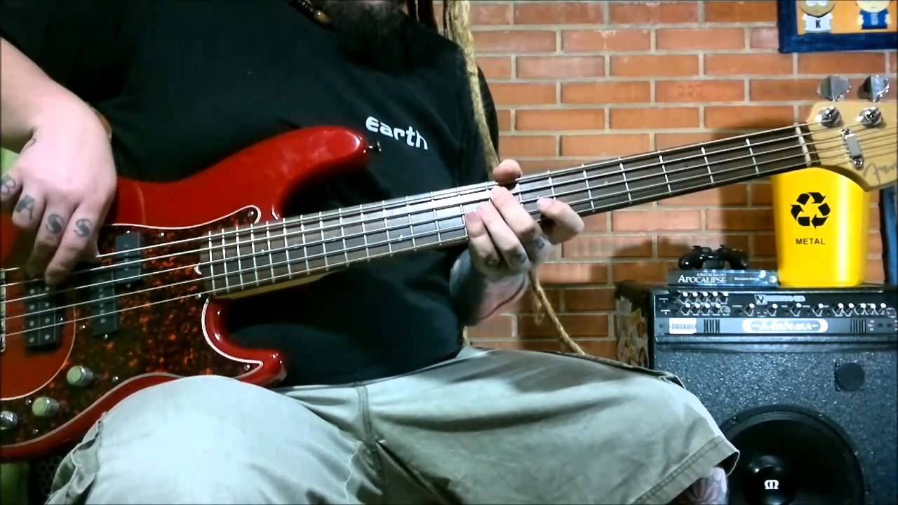 Knife Party (prty) bass cover - Deftones - YouTube