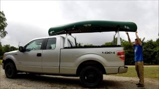 How To Load A Kayak Or Canoe Onto Your Pickup Truck.