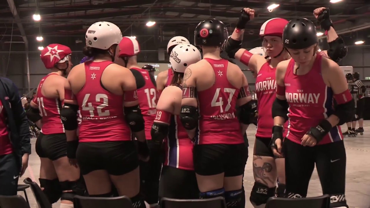 Roller Australia Roller Derby World Cup 2018 Australia Vs Norway