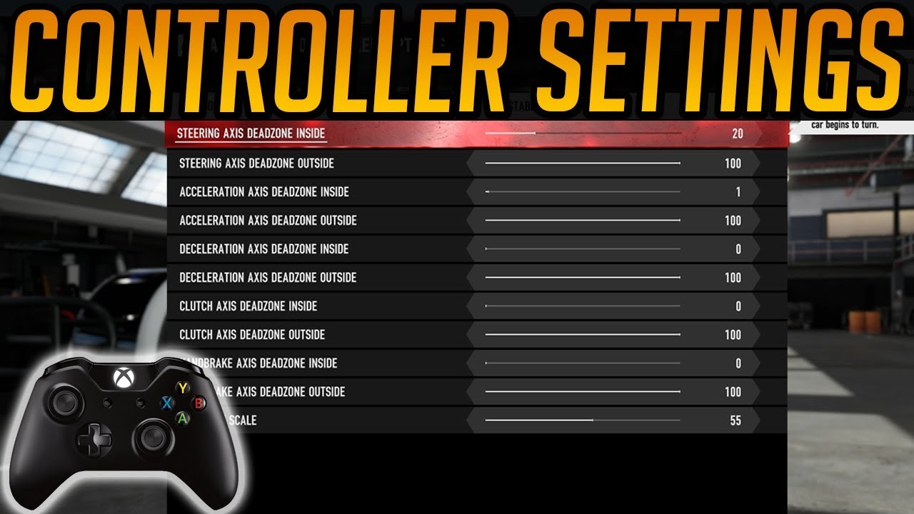 Forza 7 Best Controller Settings (Deadzone Settings)