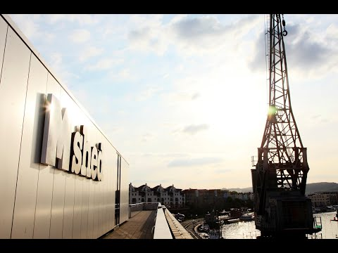 M Shed's iconic quayside cranes