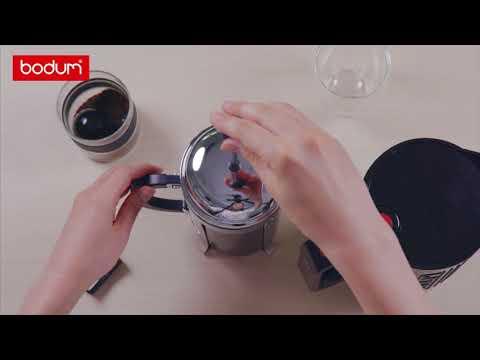 BODUM French Press Coffee: 4 Step Guide   ボダム フレンチプレスコーヒーの淹れ方4ステップ