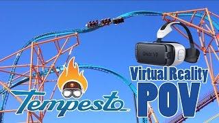 Tempesto Virtual Reality POV at Busch Gardens Williamsburg