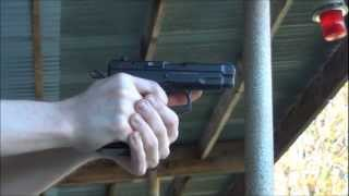 Shooting CZ-75 Compact 9mm