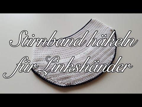 Stirnband Mit Schild Häkeln Im Marinelook Häkeltutorial Stirnband