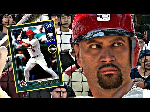 97 ALBERT PUJOLS DEBUT!! MLB THE SHOW 17 DIAMOND DYNASTY