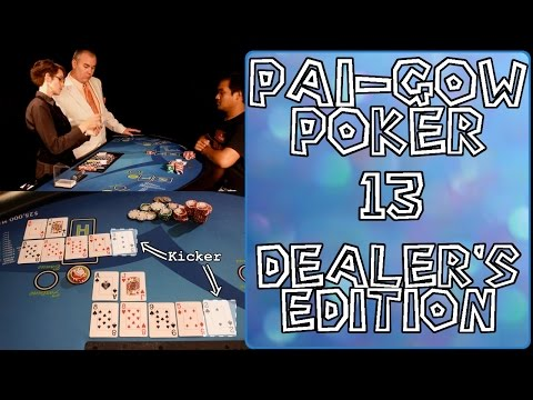 What the Dealer Should Know when Dealing Pai-Gow Poker