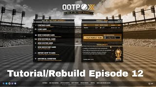 Out of the Park Tutorial Series Episode 12: End of Free Agency and Early 2019