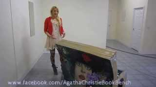 Books About Town - Agatha Christie BookBench by Mandii Pope