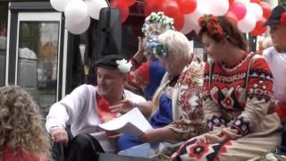 Шатура свадьба в народном стиле 2014