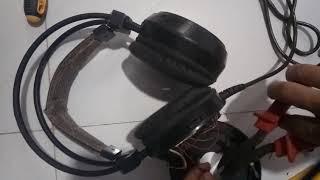 tai nghe bị điếc một bên loa và cách sửa ko cần dụng cụ  đơn giản.