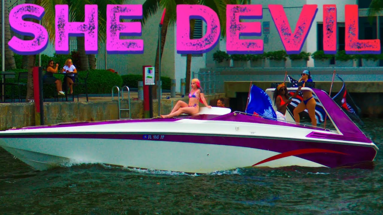 ❌SHE DEVIL❌ | MIAMI RIVER | HAULOVER INLET | HAULOVER BOATS