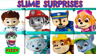 Fizzy Learns Colors with Paw patrol Slime Surprises Educational Video