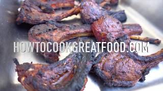 BBQ Lamb Chops Recipe - Grilled Juicy Barbecue - BBQ Marinade