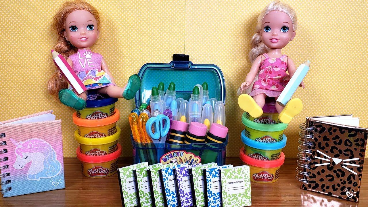small Doll School back