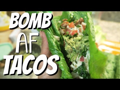 Healthy Bomb Tacos - Come with Me - Meatless Monday