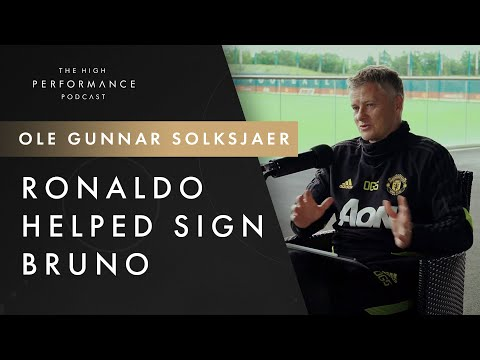 Ole on Ronaldo helping him with Bruno Fernandes & lets it slip that even he is involved in illegal approach of players   High Performance Podcast