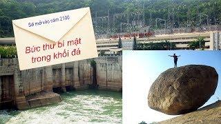 """Tiết lộ về """"Bức thư bí mật"""" được giấu trong tảng đá 10 tấn bên bờ Thủy điện Hòa Bình"""