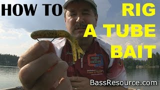 How To Rig A Tube Bait The Right Way | Bass Fishing
