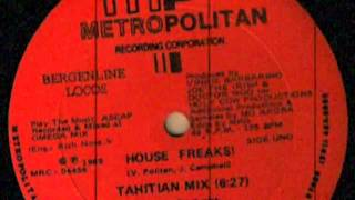 Bergenline Locos ‎– House Freaks! (Tahitian Mix)