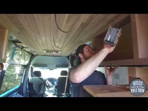 Mercedes Sprinter Van Build Update: Part 2