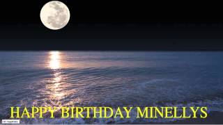 Minellys  Moon La Luna - Happy Birthday