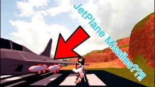 ROBLOX Jailbreak Jet Missiles Update!!!