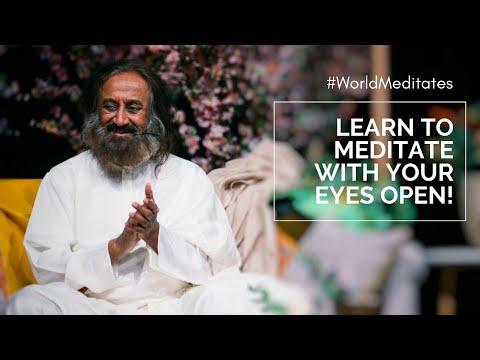 27 March 12 Pm IST: World Meditates With Gurudev Sri Sri Ravi Shankar | Live Meditation
