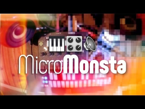 Arpeggiathing the Monsta: Arp mode on the MicroMonsta