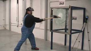 LABOCK BULLET PROOF GLASS / VANDALISM TEST