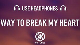 Ed Sheeran Way To Break My Heart 8D AUDIO feat Skrillex