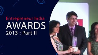 Entrepreneur India Awards 2013   Part II