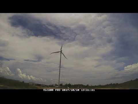 NTU deploys Singapore's first long-span wind turbine at Semakau Landfill