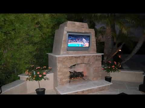 Diy Small Outdoor Fireplace Plans