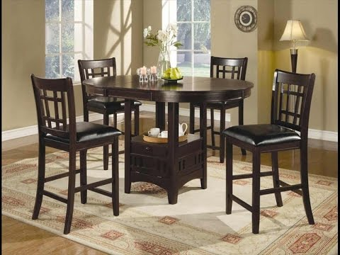 Tall Dining Table with 4 Chairs for Sale UK