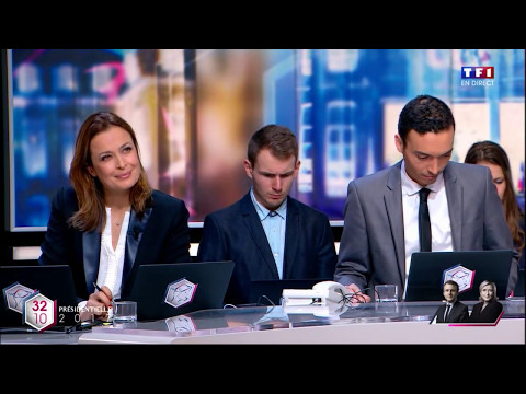 TF1 - French Presidential Election 2017 2nd Round intro - 7.5.2017