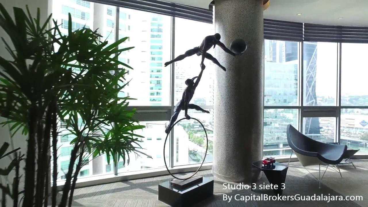 Oficina de lujo en torre icon puerta de hierro youtube for Oficinas de lujo