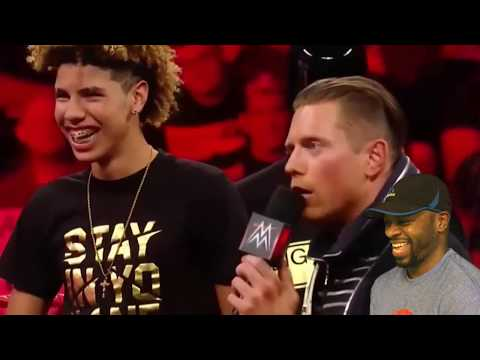 LaVar Ball , Lonzo Ball & LaMelo Ball on WWE RAW FULL SEGMENT |  REACTION