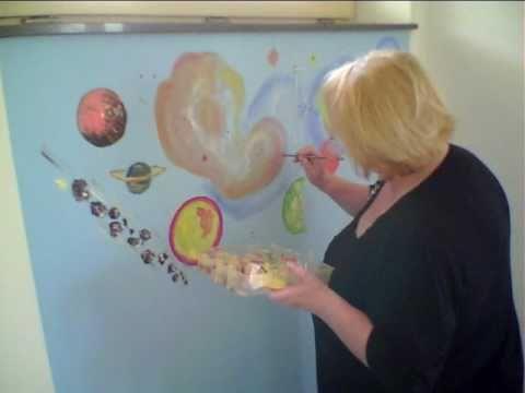Wandmalerei Kinderzimmer | Friedel Jenal Wandmalerei Live In Einem Kinderzimmer Youtube