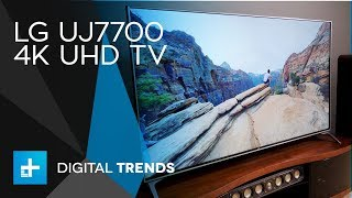 LG UJ7700 4K UHD TV - Hands On Review