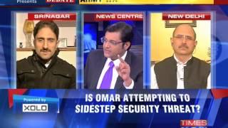 The Newshour Debate: Omar Abudllah  Oblivious - Part 1 (14th Oct 2014)
