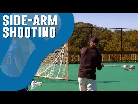 How to Shoot Sidearm in Lacrosse