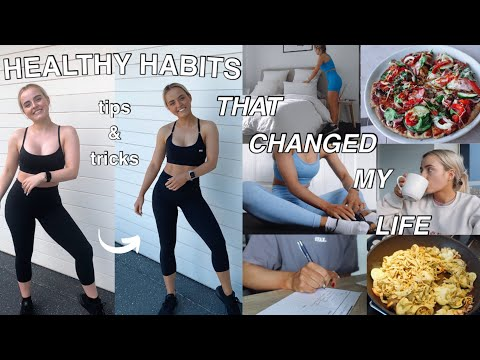 HEALTHY LIFESTYLE TIPS & TRICKS THAT CHANGED MY LIFE | FITNESS | MENTAL HEALTH | Conagh Kathleen