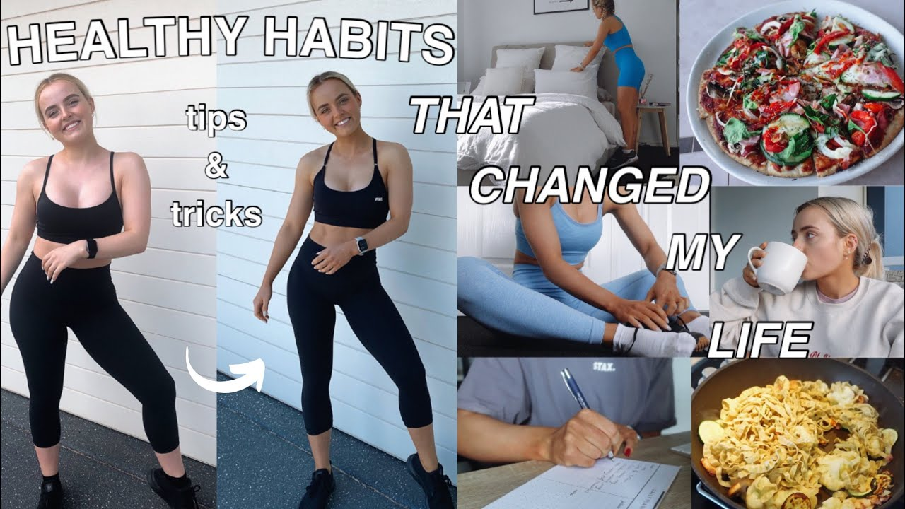 <div>HEALTHY LIFESTYLE TIPS & TRICKS THAT CHANGED MY LIFE | FITNESS | MENTAL HEALTH | Conagh Kathleen</div>